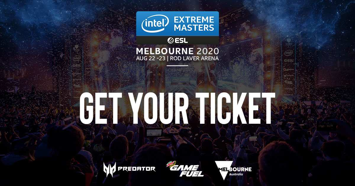 Intel Extreme Masters Melbourne 2020